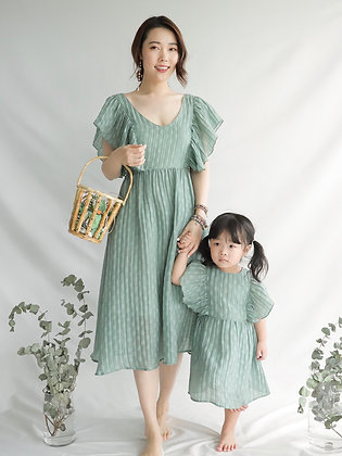 Olive Green Ruth Dress