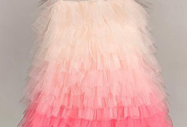 漸變蛋糕裙 Pink Layer Dress