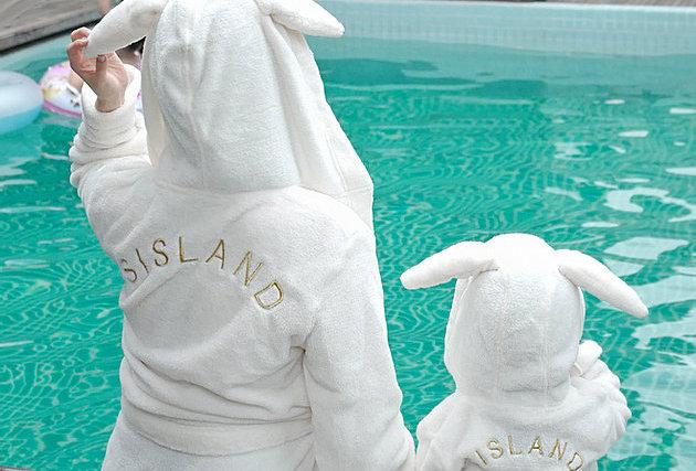 只剩童裝 Bunny Bathrobe