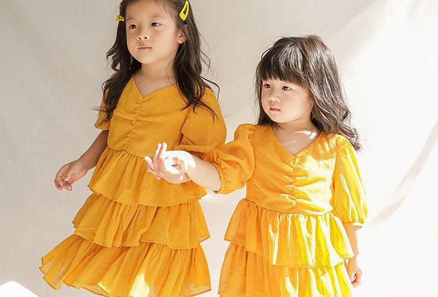 Kids 40%off ✨ Havana Orange Midi Dress