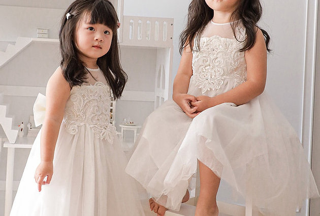 花女/生日裙 Mini Wedding Dress