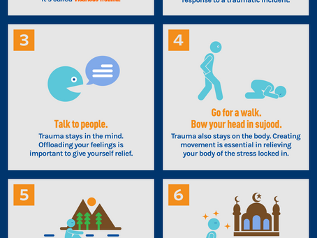 How to Cope with the New Zealand Mosque Shooting Tragedy | Infographic