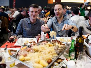 FC Sion feiert mit Royal-Sauerkraut