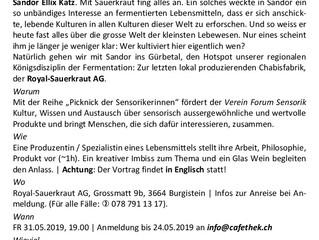 """Vortrag über """"Wild Fermentation"""""""