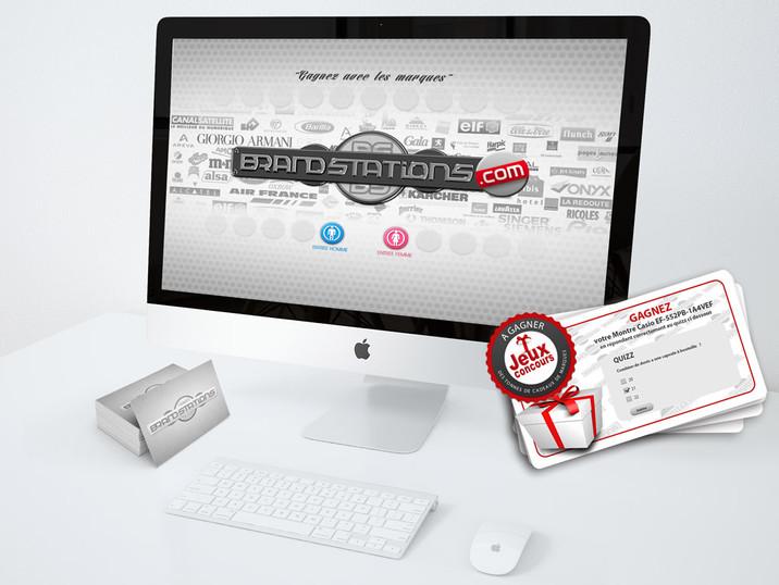 Logo et cartes Brandstation