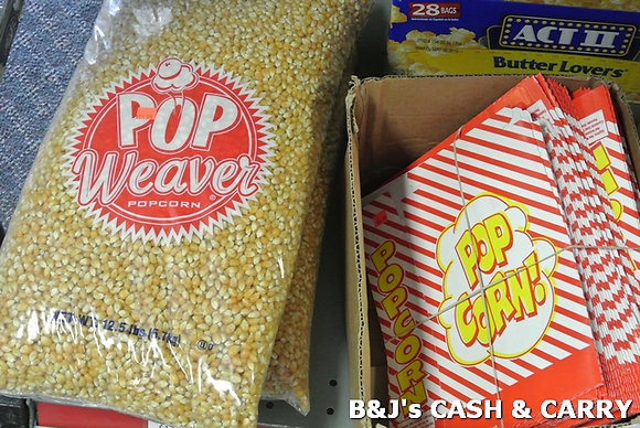 Weaver Popcorn & Popcorn Boxes