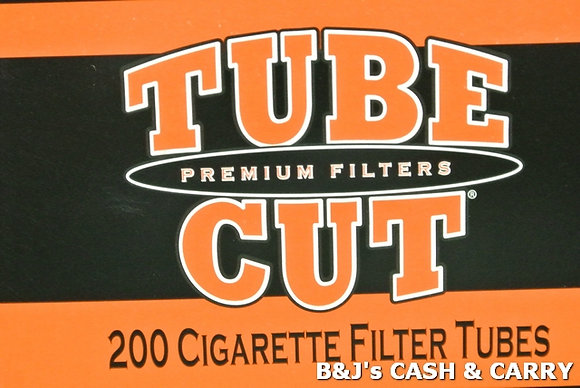 Tube Cut Cigarette Tubes - 200 Count