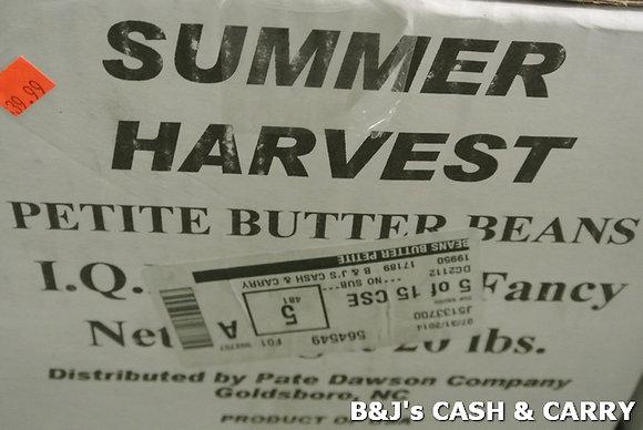 Summer Harvest Fresh Frozen Butter Beans - 20LBS