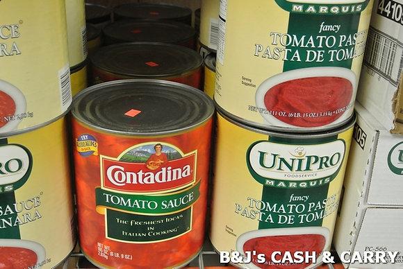 Contadina Tomato Sauce / Uni-Pro Tomato Paste