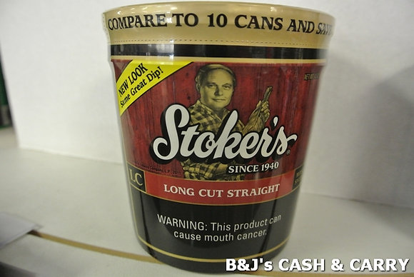 Stoker's Long Cut Dipping Tobacco