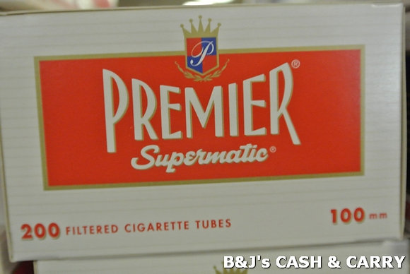 Premier Supermatic Cigarette Tubes
