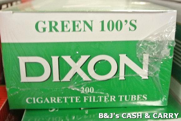 Dixon Cigarette Tubes