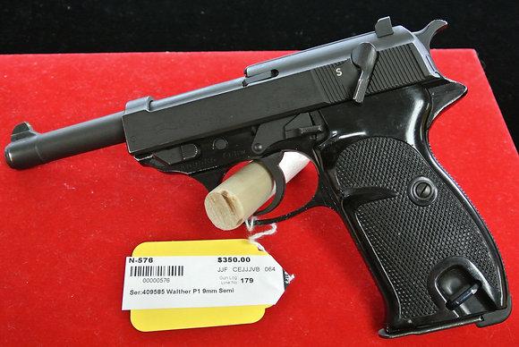 Walther Model P-1 9mm Semi Auto