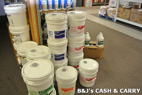 Floor Sripping, Cleaning & Polishing Supplies