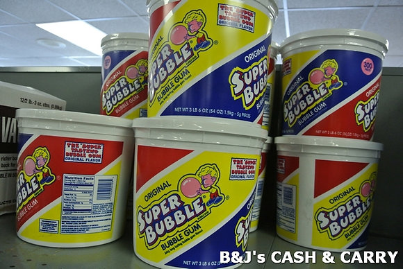 Super Bubble Bubble Gum - 64oz