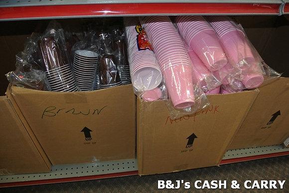Solo Plastic Cups in Multplr Colors