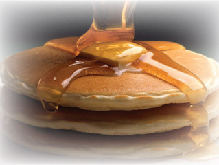 Oscar's Off the Plate Pancake Special for $2.95