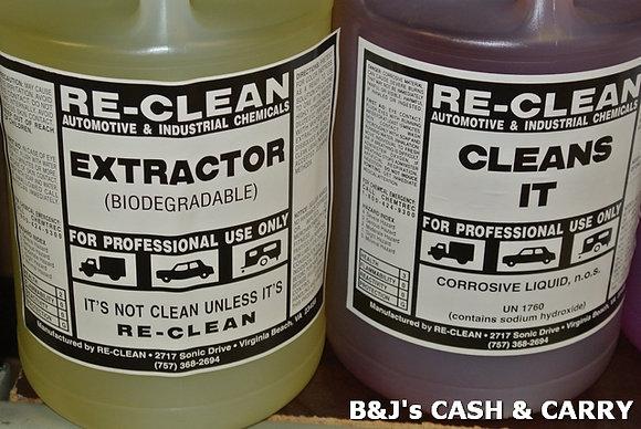RE -CLEAN Car Detailing Extrector & Car Wash