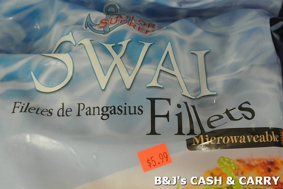 Sailor Supreme SWAI Filets - 2 LB Bag