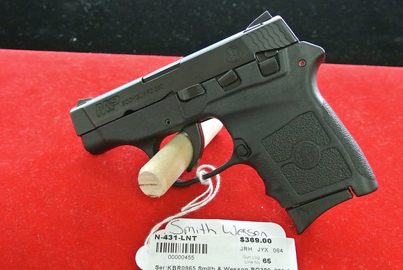 Smith & Wesson BG380 .380 Caliber