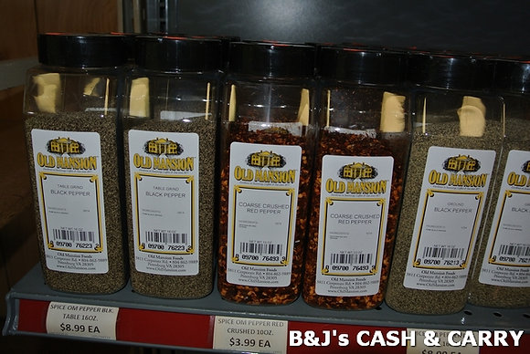Large Variety Old Mansion Spices