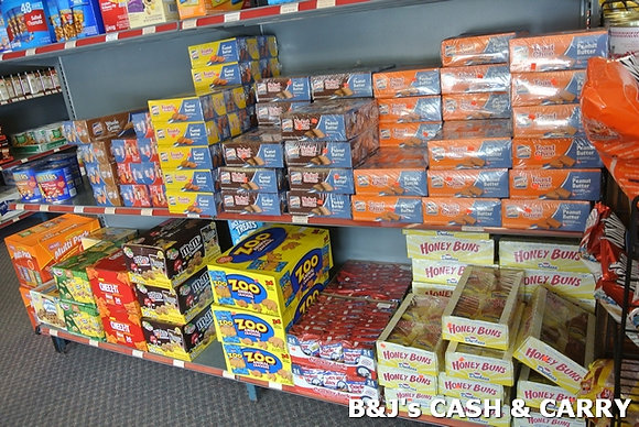 Selection of Cookies, Peanuts & Snacks