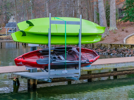 Our Latest Lift for Kayaks & Paddle Boards