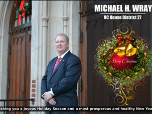 Merry Christmas From Michael H. Wray & Family