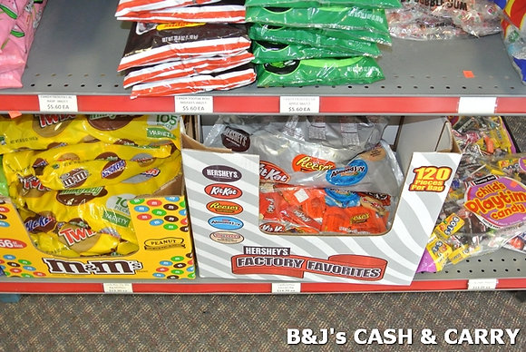 Various Bagged Candy