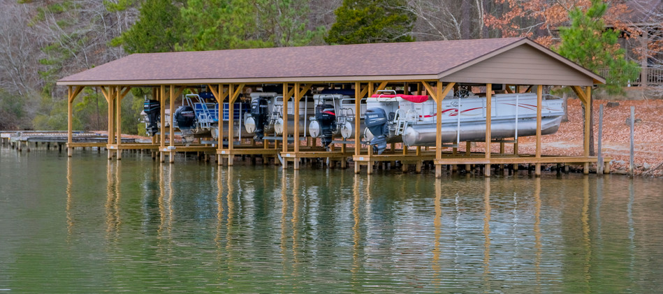 Ultimate Boat Lifts Community Boat House Maintenance on Boat Lifts