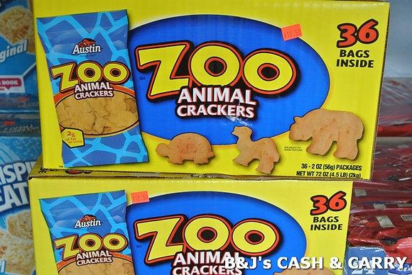 Austin Zoo Aminal Crackers