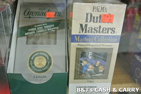 Dutch Master & Grenadiers Cigars