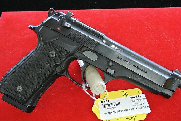 Beretta Model 95 .40 Caliber Semi Auto