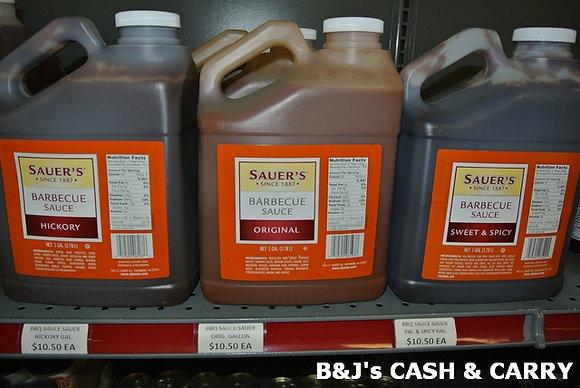 Sauer's BBQ Sauce 1 Gal
