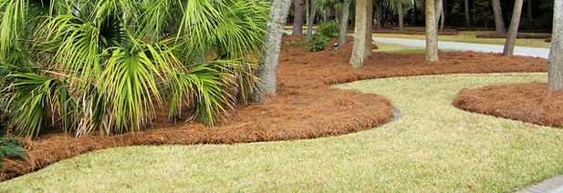 Mulch and pinestraw delivery and installation lake gaston