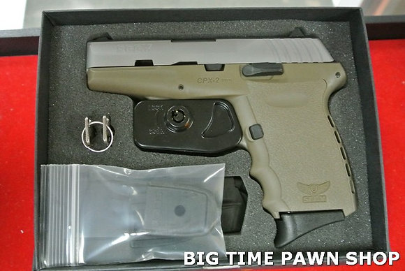 SCCY CPX-2 9mm Semi Auto