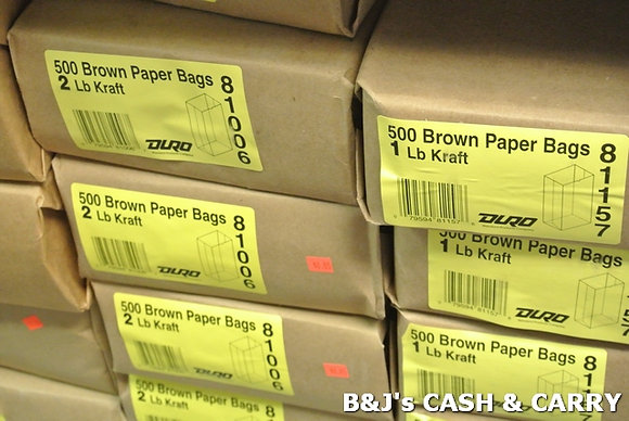 Wide Variety of Brown Paper Bags