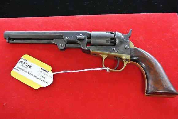 Colt 1849 Pocket .31 Caliber Muzzle Loader