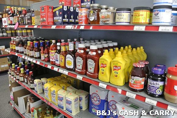 BBQ Sauces, Kitchen Condiments & Sugar