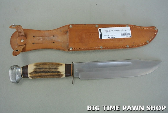 German Made Solingn Knife w/ Sheath