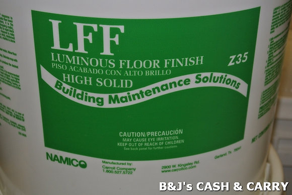 LFF 5 Gal.  Luminous Floor Finish