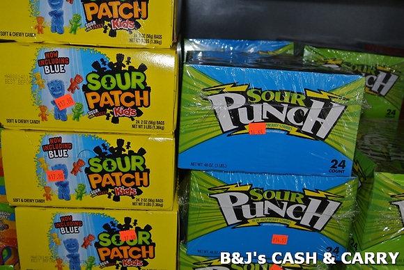 Sour Patch & Sour Punch Candies