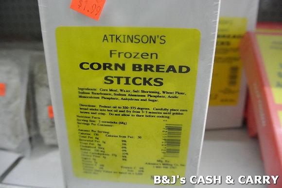 Atkinson's Frozen Corn Bread Sticks