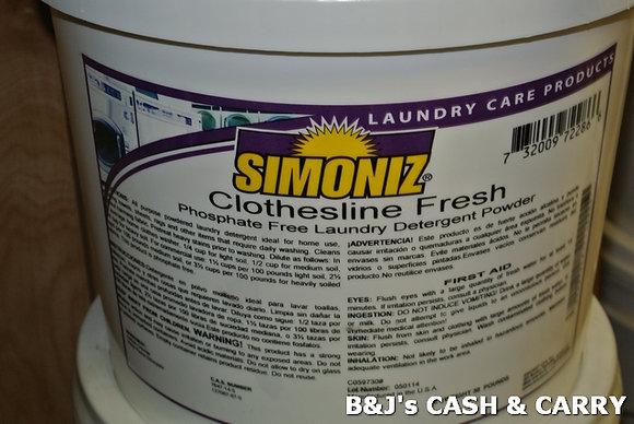 Simoniz 5 Gal. Powdered Laundry Detergent