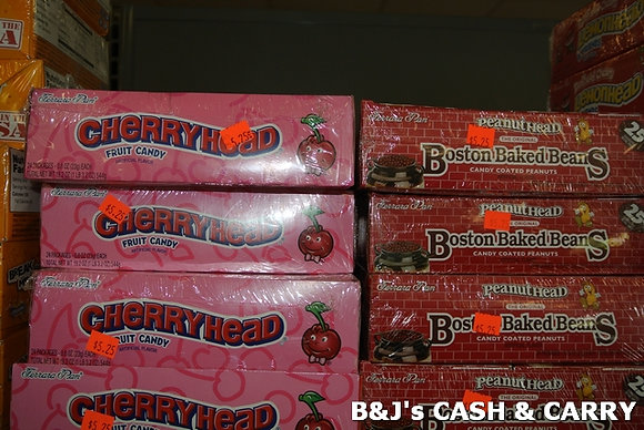 Cherryhead & Boston Baked Bean Candies
