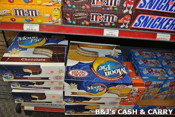 M&Ms, Snickers, Moon Pie Candy & Cakes