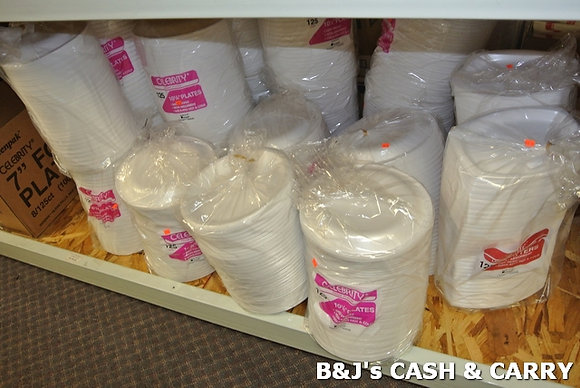 Wide Selection of Styrofoam/Paper Serving Products