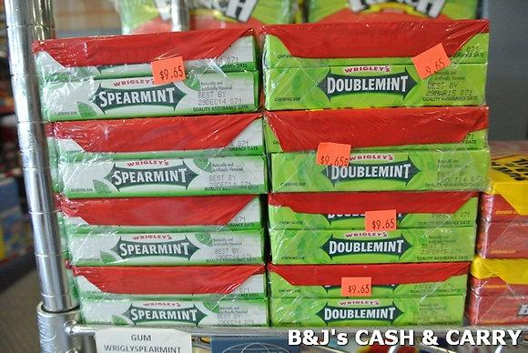 Wrigley's Spearmint & Doublemint Chewing Gum