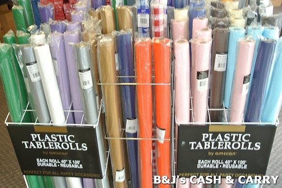 Plastic Table Rolls