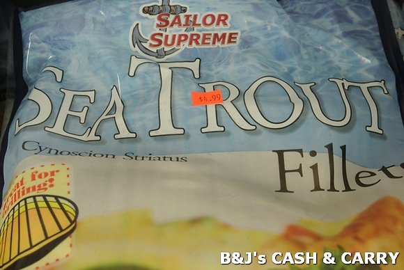 Sailor Supreme Sea Trout Filets - 2LB Bag